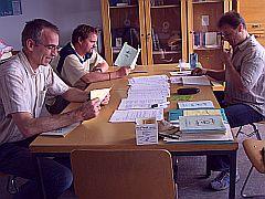 Treffen der Selbsthilfegruppe Alphabetisierung Ludwigshafen